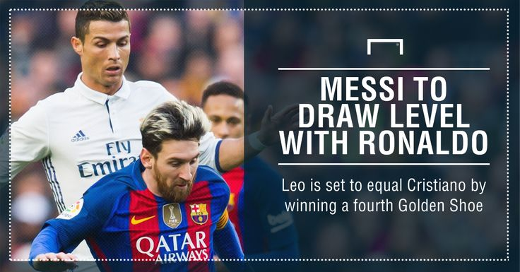 He's coming for you, Cristiano! Messi set to equal Ronaldo's European Golden Shoe record