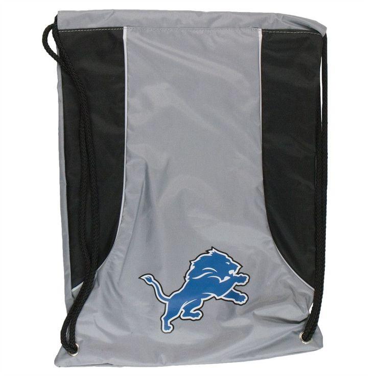 Detroit Lions - Team Logo Nylon Backsack