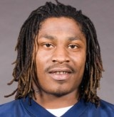 """Marshawn Lynch  Richmond, CA  MOST KNOWN FOR    Star NFL running back with """"stupid fast"""" speed and """"beast mode"""" on-the-field attitude"""
