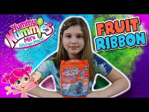 Yummy Nummies ~ Fruity Ribbons Maker Mini Kitchen Magic! DIY Candy    Jo...