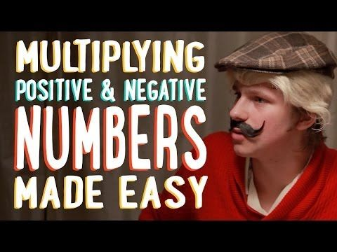 Integer unit videos for intermediates!  Multiplying Positive and Negative Numbers | Made Easy | PBSMathClub