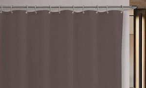 """Groupon - Dainty Home 72""""x72"""" Anti-Mildew Shower Liners. Multiple Colors Available. Free Returns. in Online Deal. Groupon deal price: $6.99"""