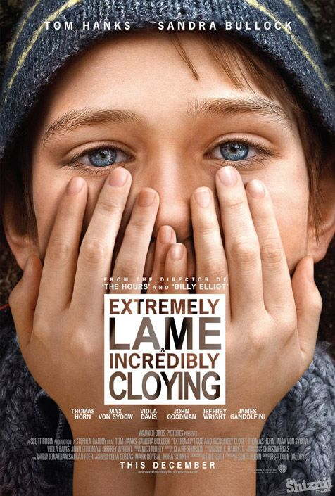 If 2012's Oscar-nominated movie posters told the truth...Extremely Loud & Incredibly Close