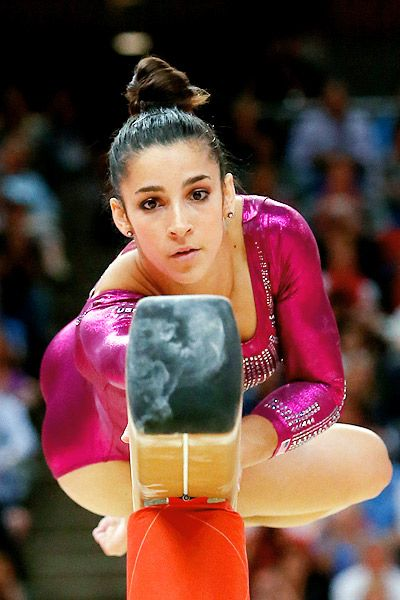 Alexandra Raisman-unfortunately tied for bronze but they placed her 4th.