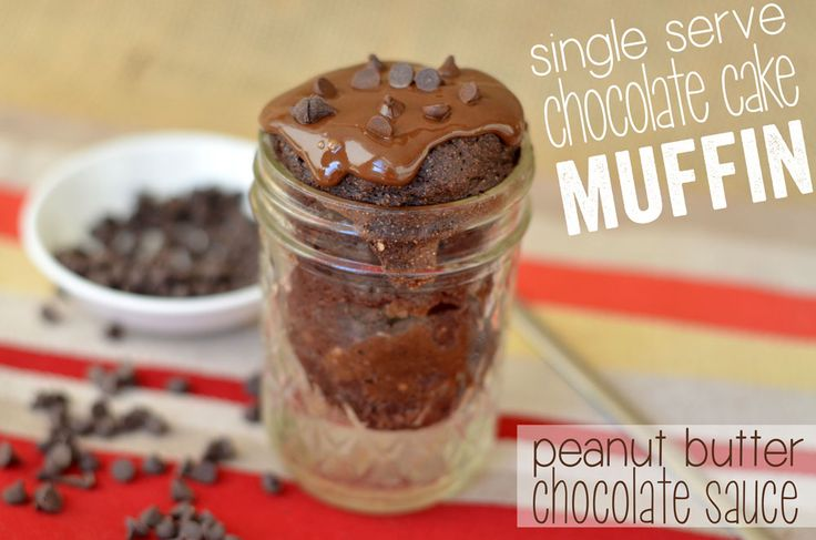 Single Serve Microwave Chocolate Cake