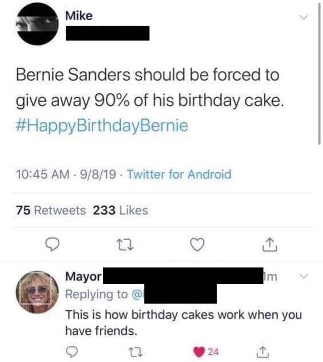 To Criticize Bernie Sanders Murderedbywords Dumb Tweets Bernie Sanders Bernie