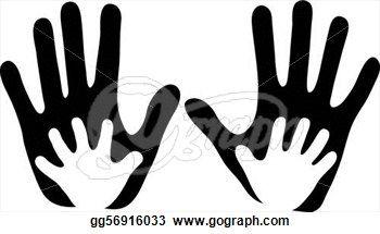 Child's Hands in Adult Hands