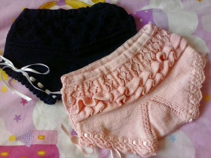 ¡En rosa y con Lacitos!: Braguitas y culottes en perlé!!