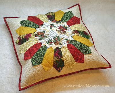 """Patchwork geometry: Another """"Dresden Plate"""""""