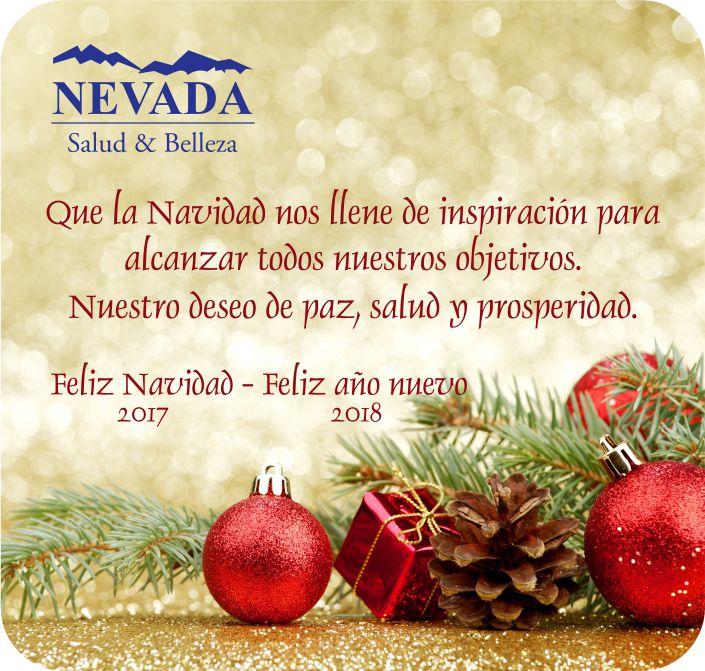 Feliz Navidad y próspero año nuevo, les desea NEVADA GROUP SAS