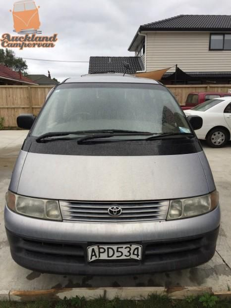 Toyota Estima '1995 We have many campervans available to hire and enjoying the tourist holiday home, beaches in New Zealand. All at very competitive and reasonable prices.