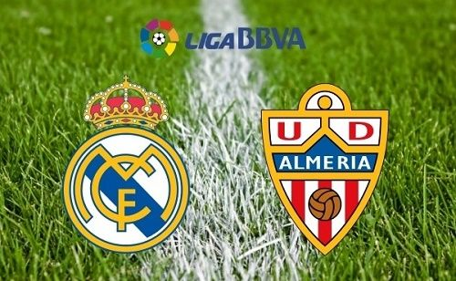 Real Madrid and Almeria Spain Liga BBVA 2014-15 matchday-34 live streaming, telecast can be watched online on various broadcasting networks from 18:00 GMT.