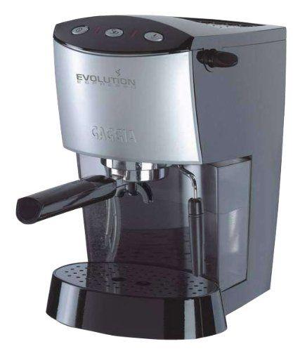 Gaggia Baby Espresso Machine - Black - http://www.teacoffeestore.com/gaggia-baby-espresso-machine-black/