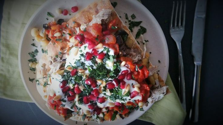 Fatteh: wereldse Libanese kip