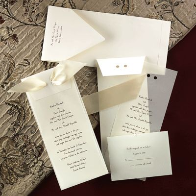 Co-ordinated Cards for the complete ceremony
