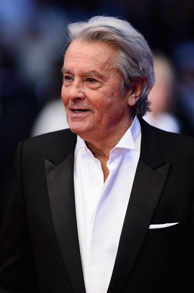 Alain Delon Photos Photos - Actor Alain Delon attends the 'Only Lovers Left Alive' premiere during The 66th Annual Cannes Film Festival at the Palais des Festivals on May 25, 2013 in Cannes, France. - 'La Venus A La Fourrure' Premieres in Cannes