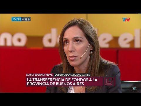 """(186) M.E.Vidal en """"Desde el llano"""", de Joaquín Morales Solá - 09/01/17 - YouTube"""