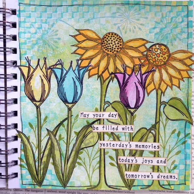 PaperArtsy: NEW {July 2015} PaperArtsy Products: Eclectica³ Lin Brown - Part 2