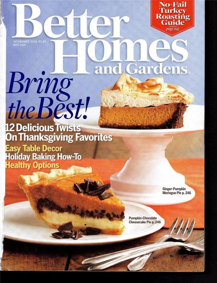109 Best Thanksgiving Magazines Images On Pinterest | November