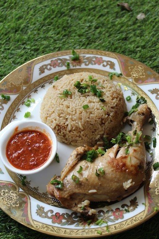 Hainanese Chicken Rice Recipe - Chilli Ginger Sauce Recipe -3365