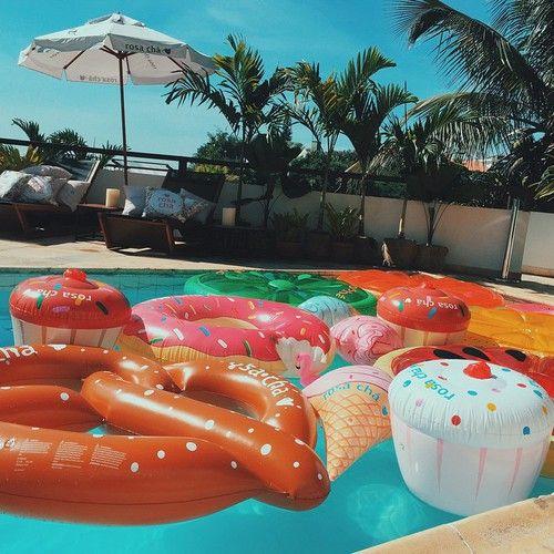 las 25 mejores ideas sobre flotadores de piscina en