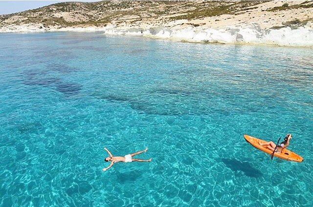 The exotic uninhabited island of Polyaigos (Πολύαιγος) ❤️ A unique destination with amazing sea and wonderful landscapes . The diamond of the Aegean Sea !