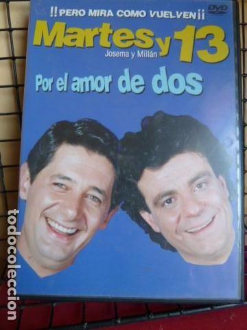 MARTES Y 13 -POR EL AMOR DE DOS -ESTADO IMPECABLE-DVD- (Cine - Películas - DVD)