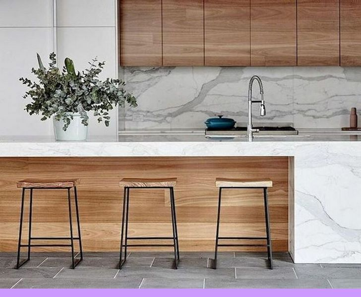Dark Light Oak Maple Cherry Cabinetry And Kitchen Cabinet Wood Polish Check The Pict Contemporary Kitchen Design White Wood Kitchens Contemporary Kitchen