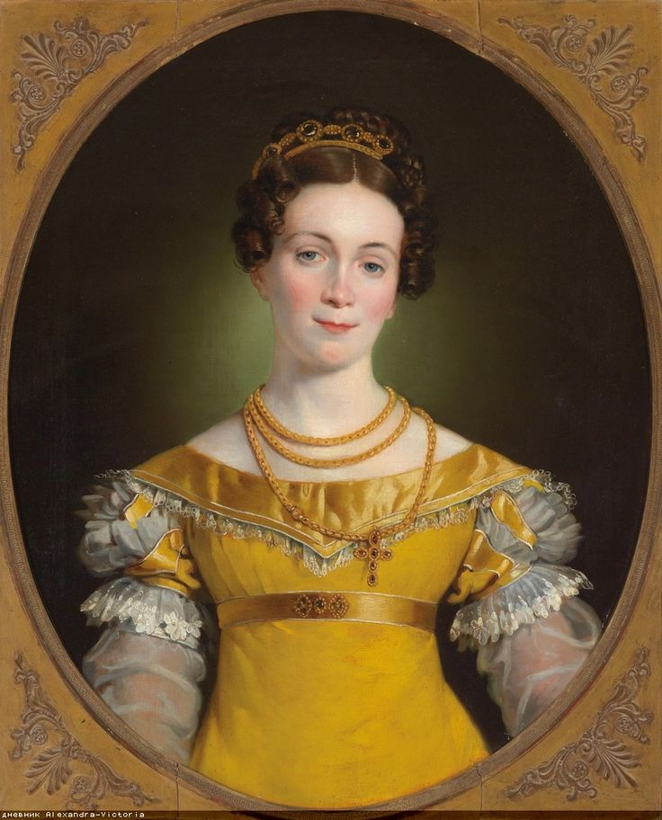 1819 Johann-Peter Krafft - Portrait of Anna Obermayer