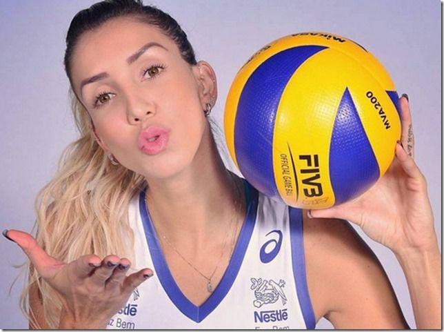 RS Notícias: Thaísa Menezes, jogadora de voleibol brasileira