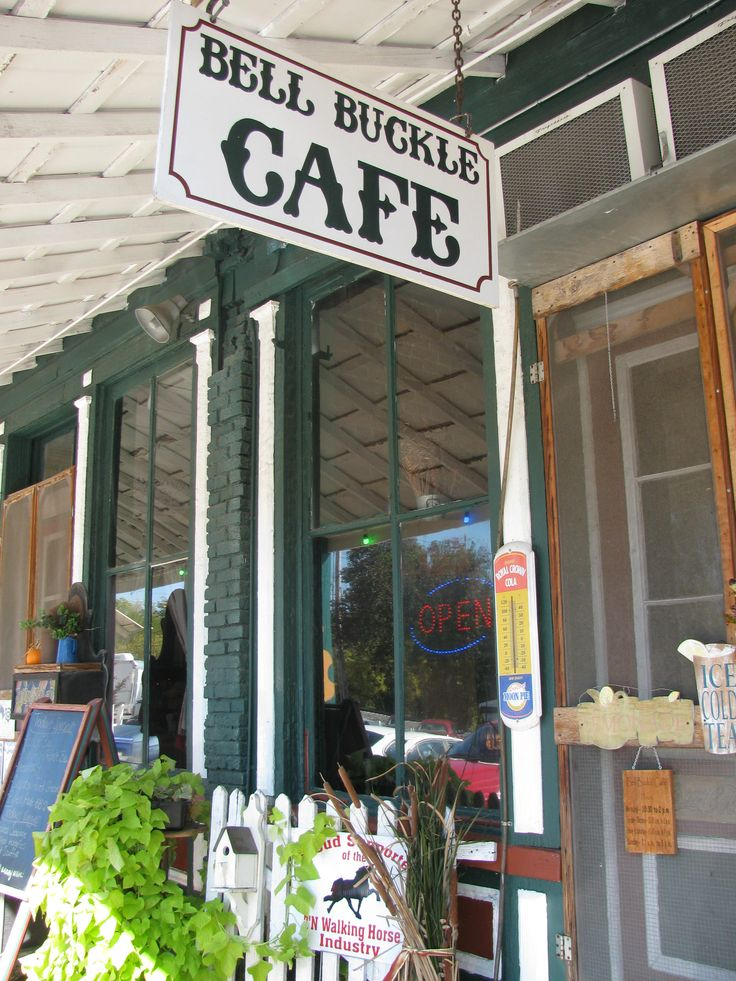 the history of the bell buckle cafe Bell buckle's budding farmer's market  historical one of the only all- confederate cemeteries gallagher guitar company historical  bell buckle  coffee shop.