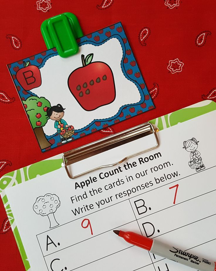 Engaging Mental Math Practice for Your Little Learners!  $   #apples  #autumn…