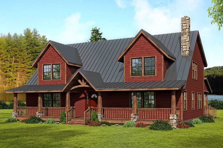 Plan 61039KS TwoStory House Plan with WalkOut Basement