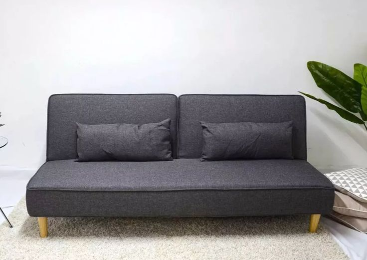 Retro futon roselawnlutheran for Sofa 3 cuerpos salerno