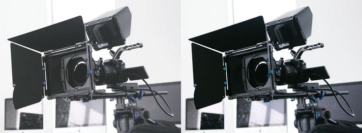 Before and after edit of the camera rig. Lifted contrast and saturation and upped the whites.