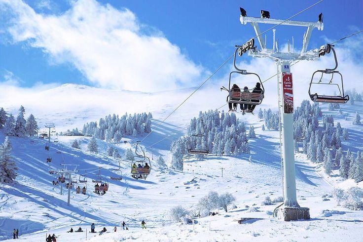 Τα χιονοδρομικά κέντρα της Βόρειας Ελλάδας προετοιμάζονται για τις «άσπρες» μέρες...