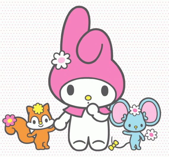 My Melody, my favorite sanrio character