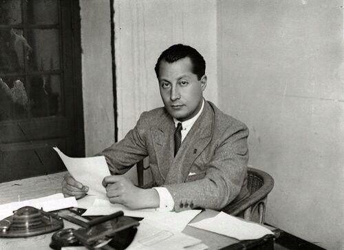 José Antonio Primo de Rivera, fundador de Falange Española