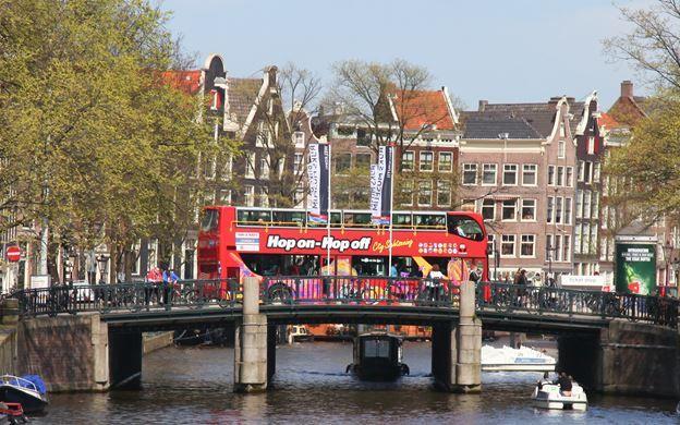 Amsterdam Hop-On Hop-Off Tour, Amsterdam City Tours, Book Online!