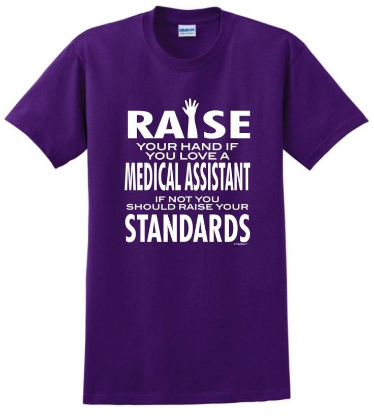 certified medical assistant cover letter%0A Amazon com  Love a Medical Assistant If Not Raise Your Standard TShirt