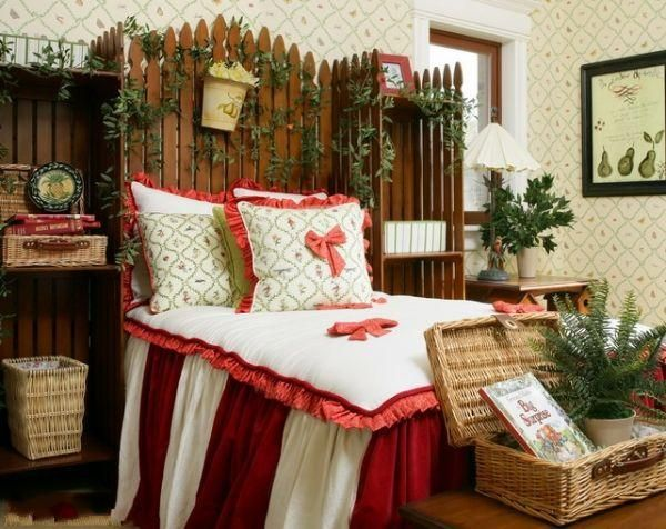 American Country Style Bedroom Design 3
