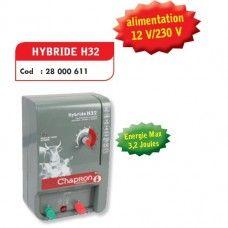 Aparat gard electric pentru animale domestice si salbatice HYBRIDE H32, 220V/12V - Chapron
