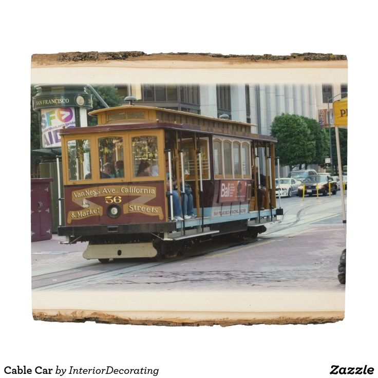 Cable Car Wood Panel