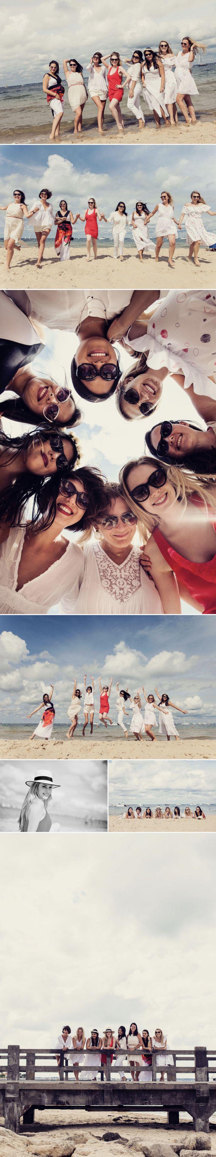 EVJF Kristina // Séance photo EVJF // Sarah Miramon Photographe #evjf #filles #plage #lifesyle #photo #photographe #arcachon