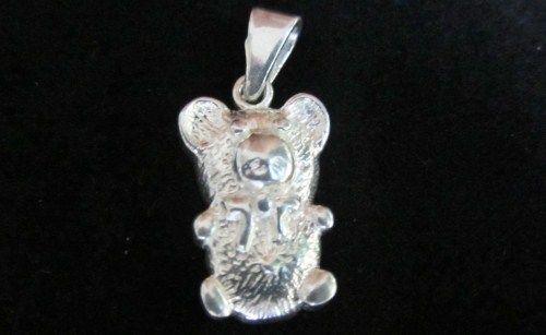 Sterling silver bear pendant. www.myfashionjewellry.com www.myjewellry.weebly.com e-mail: mavistar07@gmail.com