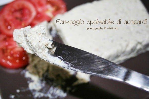 """La zucca capricciosa: """"Formaggio"""" spalmabile di anacardi alle olive"""