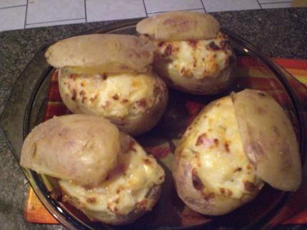 Pommes+de+terre+au+four+aux+lardons