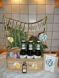 kreatives-allerlei: Biergarten, Stampin'Up!, Karte, 60. Geburtstag, Geschenk – A…