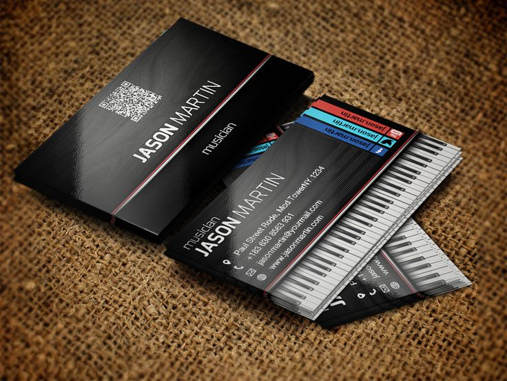 the 25 best musician business card ideas on pinterest visiting