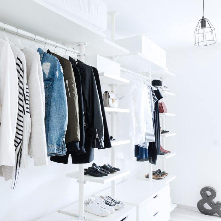 Endlich Ordnung! 8 genial-einfache Kleiderschrank-Hacks